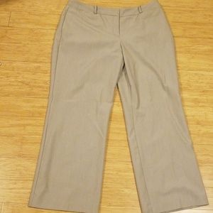 Tan Career Pant (Curvy Fit)